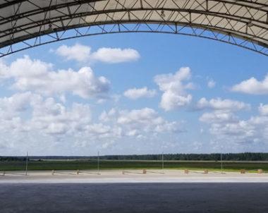 aircraft hangar at Cecil Airport