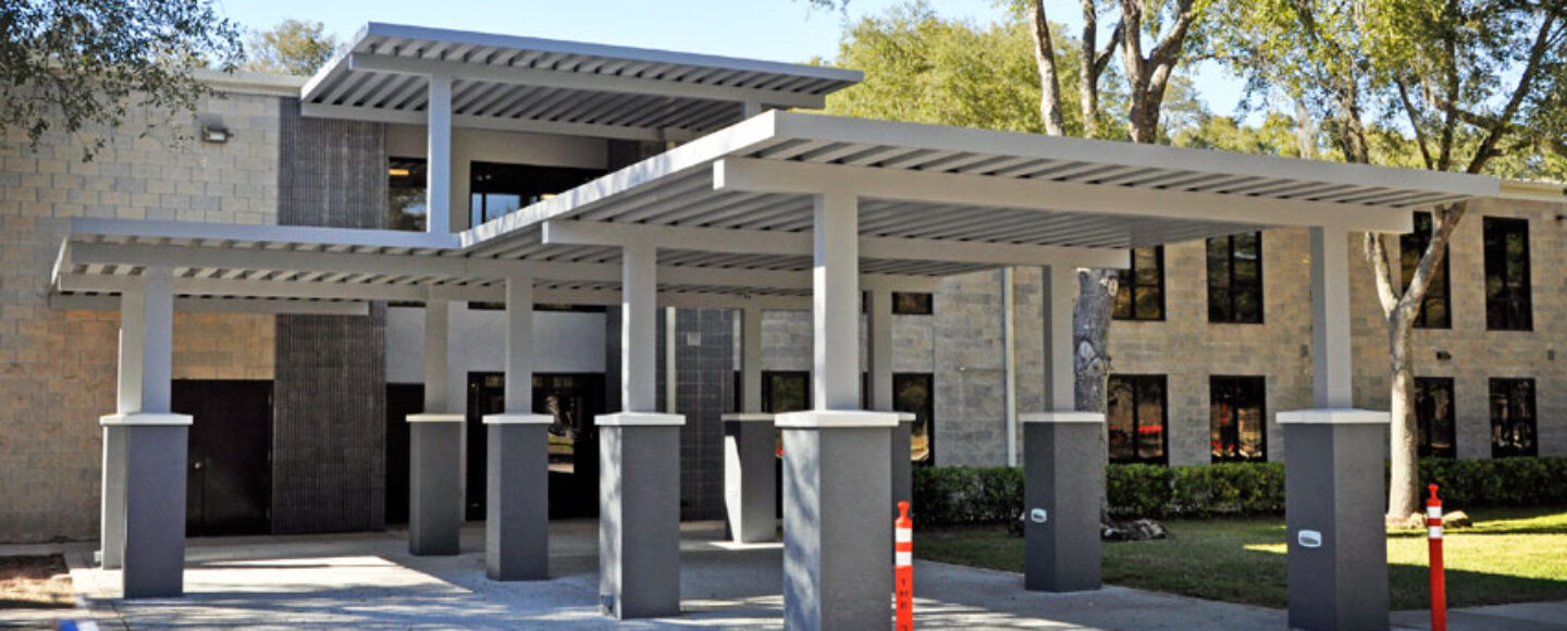 The Rock School Canopy Addition Gainesville Florida