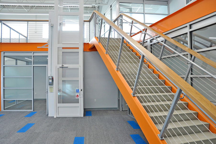 University of Florida Frazier Rogers Hall Institute for Global Food Systems Stairs and Elevator